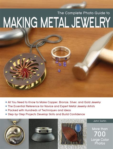 how to make jewelry books the complete photo guide to metal jewelry