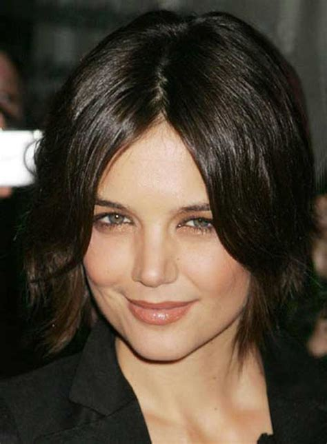 brunette shag hairstyle katie holmes bob pictures you should see bob hairstyles