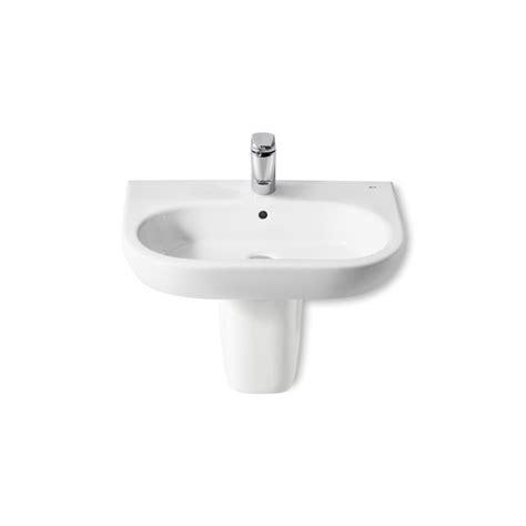 lavabos de pedestal lavabo pedestal semipedestal meridian 600x460 roca