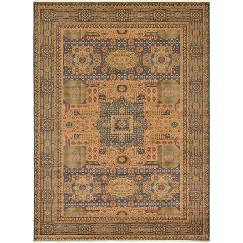 10 X 18 Area Rugs - unique loom palace blue 13 ft x 18 ft area rug 3125657