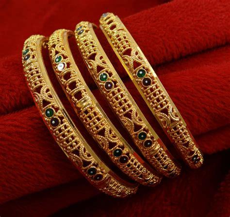 Indian Women Traditional Kada Bangle Set Wedding Bracelets Bridal Jewelry   eBay