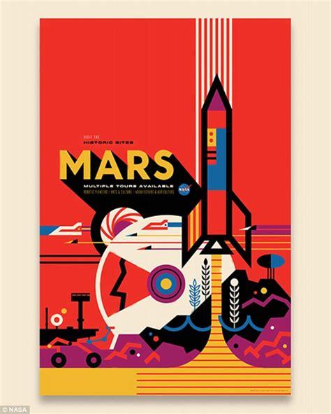 nasa design poster nasa reveals retro posters for space travel around jupiter