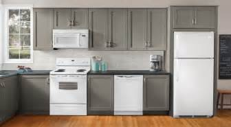 kitchen ideas white appliances ideas to decorate a kitchen with white appliances and gray