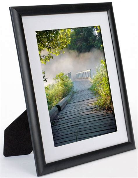 10 X 13 Matted To 8x10 - 11 x 13 plastic picture frame for table or wall matted to