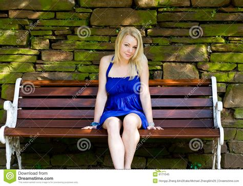 women bench woman on bench royalty free stock photo image 6171045