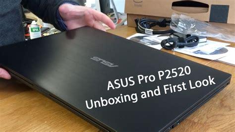 Laptop Asus Pro P550l asus pro p2520 15 6 quot windows laptop unboxing look