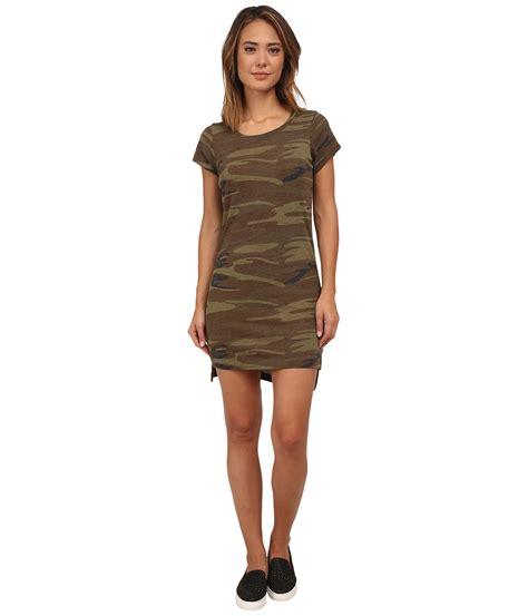 T Shirt The Best 99 01 Deals Alternative Eco Jersey T Shirt Dress Camo