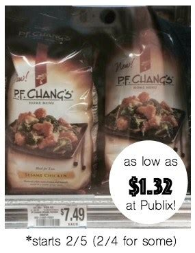 Where Can I Buy A Pf Changs Gift Card - great price on pf chang s meals for two at publix as low as 1 32