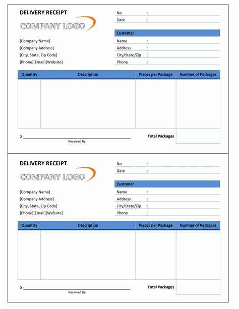 delivery invoice template delivery invoice template invoice template ideas