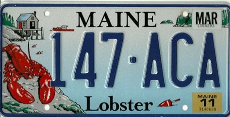 maine license plate gallery