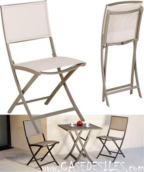 chaise de jardin en alu pliante design 927 pas cher
