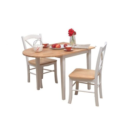 small wooden kitchen table and chairs 3 set