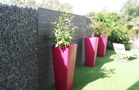 pot jardin design un jardin design avec des mat 233 riaux 233 cologiques
