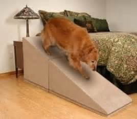 Rug Slipping On Carpet Dog Ramps For Tall Beds Foter