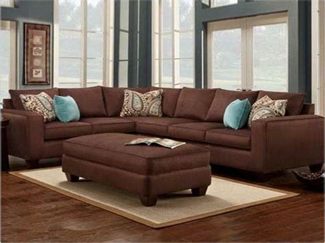 blue and brown sofa living room color schemes brown couch alxtt boravak