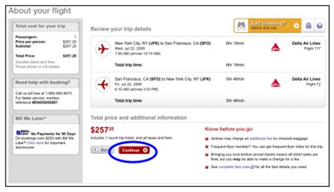 user guide for a dates search on hotwire airfarewatchdog