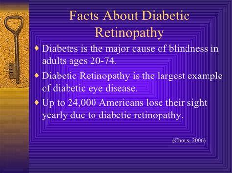 Blindness Due To Diabetes diabetic retinopathy