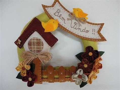 Flanel Natal 03 guirlanda feltro by ludmila guerrero via flickr guirlandas feltro crafts and