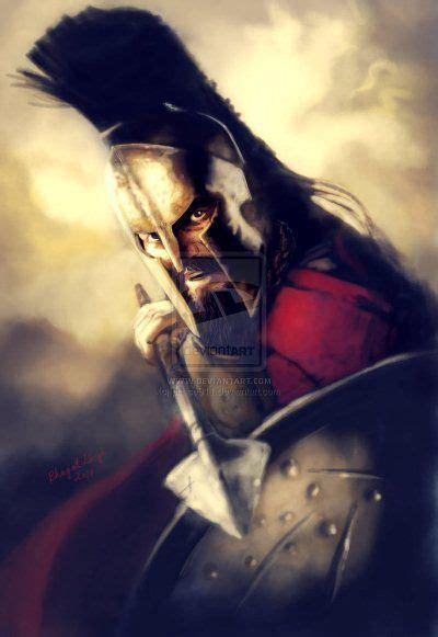 king leonidas spartan 300 king fan and artworks on