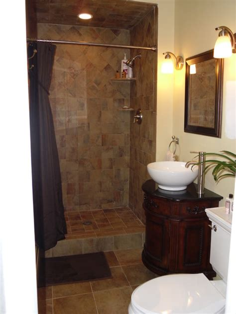 Small Master Bathrooms by Small Master Bath Remodel Traditional Bathroom Newark