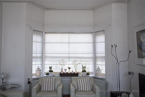 window treatment for bay windows double layered roman 17 best images about window treatments on pinterest