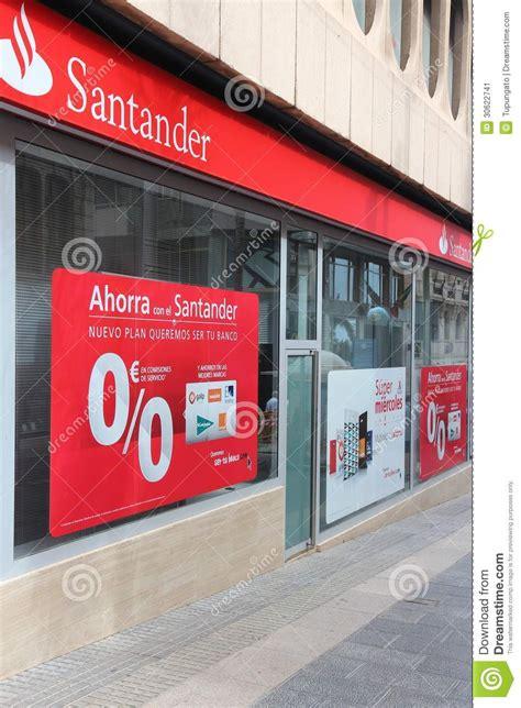 santander bank finanzierung abgelehnt santander bank redaktionelles foto bild 30622741