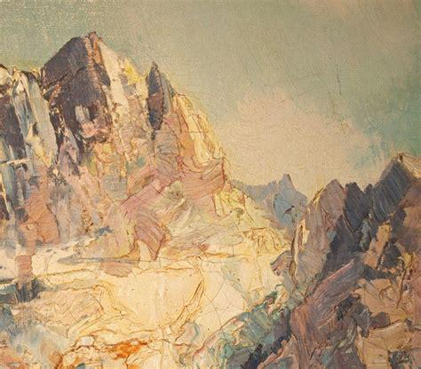 Vintage Landscape Pictures Vintage Landscape Painting On Canvas Ingfried Henze