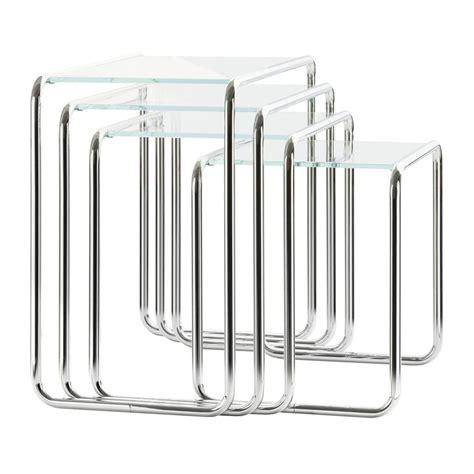 Thonet B9 by Thonet B9 Beistelltisch Glas Thonet Ambientedirect