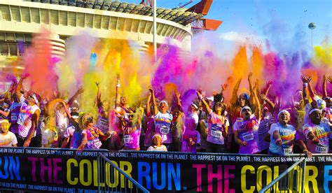 the color run is coming to boston after all boston magazine