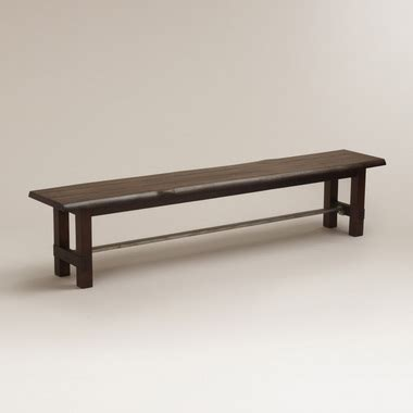 bench capital three rustic wood dining benches in budget midrange and