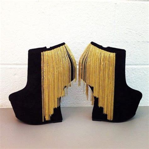 black gold shoes high heels shoes black and gold shoes wedges high heels wheretoget