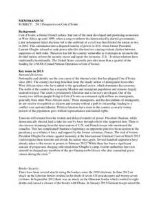 Government Policy Template by Policy Memo Writing Sle