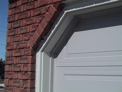 insulate  gaps   garage door  side