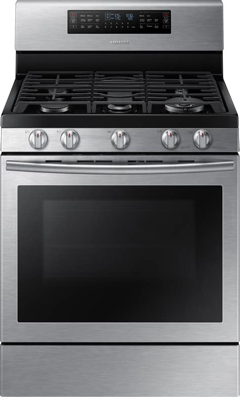 samsung nx58j7750ss 30 inch flex duo gas range with 5 8 cu ft oven capacity 5 sealed burners