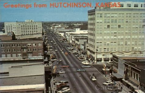 Hutchinson Ks Downtown Hutchinson Ks A Of