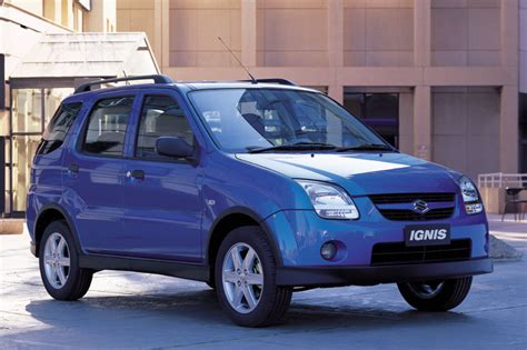 Suzuki Ignus 2003 Suzuki Ignis 1 3 Related Infomation Specifications