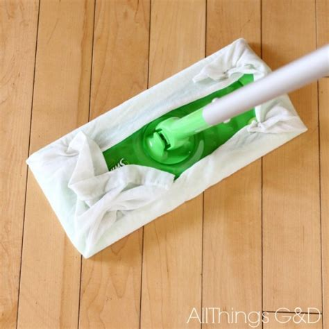 reusable swiffer wet wipes made from old t shirts all things g d