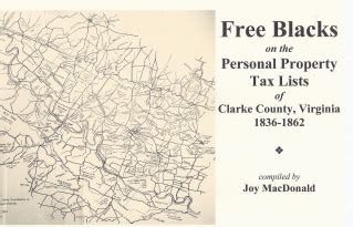 Fairfax County Personal Property Tax Records Clarke County Virginia Records