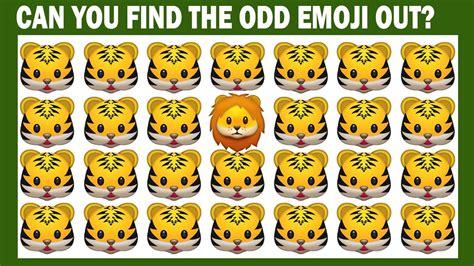 find the emoji 2 new year find the emoji one out emoji faces quiz