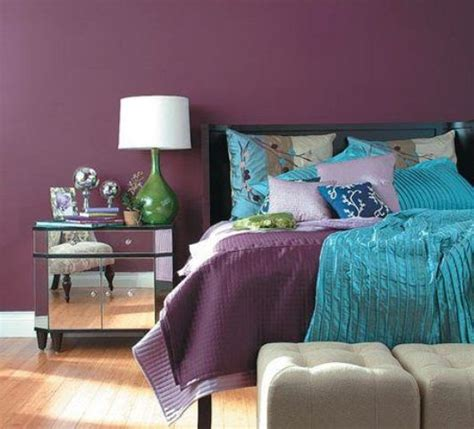 plum colored bedroom ideas 36 cool turquoise home d 233 cor ideas digsdigs