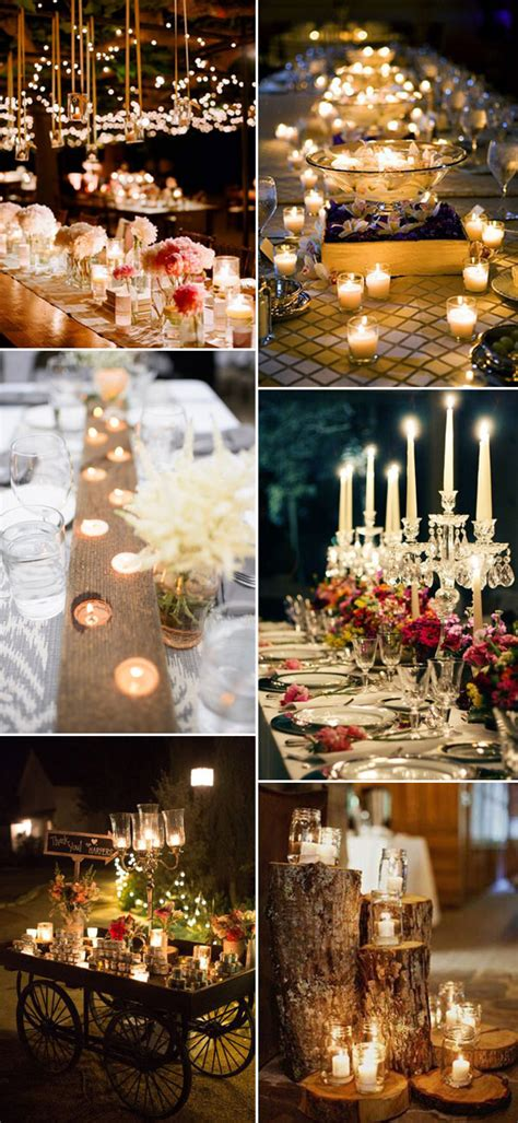 5 ways to light your wedding receptions