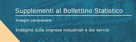 bollettino statistico d italia d italia indagine sulle imprese industriali e dei