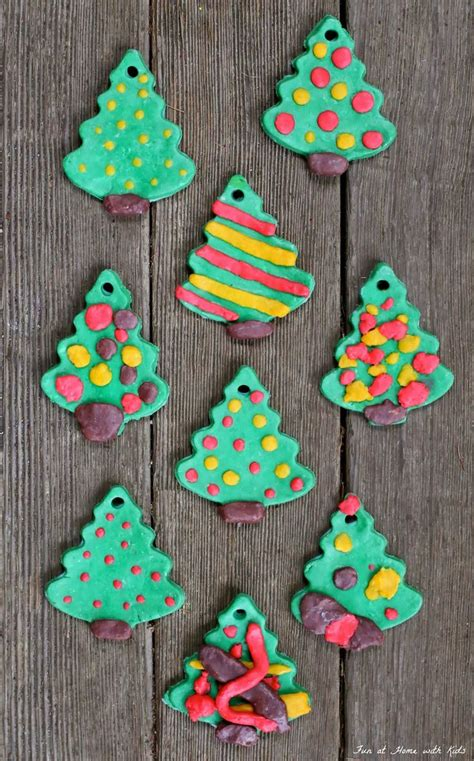 diy bread clay recipe for no bake ornaments christmas