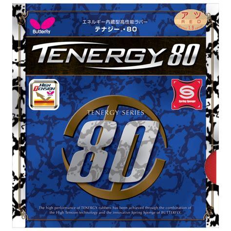 Karet Butterfly Tenergy 80 Butterfly Tenergy 80 Table Tennis Rubber Butterfly