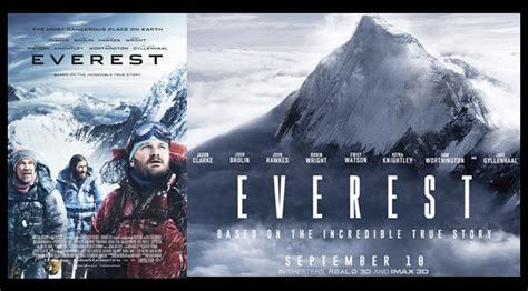 film everest based on book everest 2015 cinema forensic