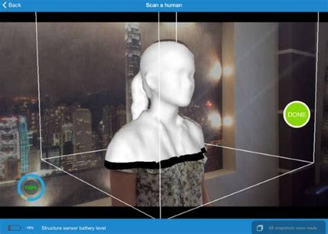 scanning app for android 3ders org itseez3d app structure sensor to turn your into ultra realistic 3d scanner