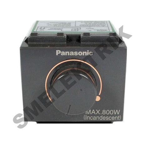 Saklar Panasonic panasonic nwide saklar dimmer 800w 220v sm elektrik