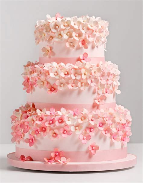 Pink Wedding Cake by Pink Wedding Cake Ideas Chocolates