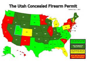 colorado concealed carry reciprocity map foremost defensive solutions states