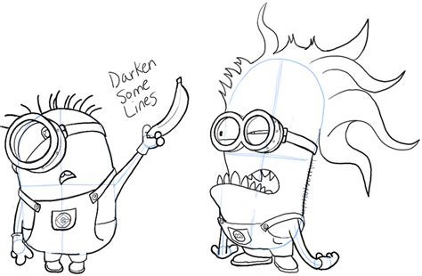 evil minions coloring pages evil minion coloring page www pixshark images